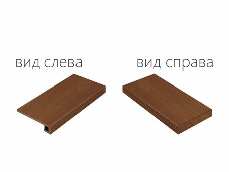 Italon Surface Corten Scalino Angolare Destro 120 (Италон Серфейс Кортен)