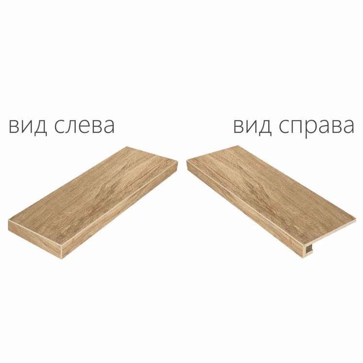 Italon Natural Life Wood Olive X2 Scalino Angolare Sx (Италон Нэйчурал Лайф Вуд Олив Х2)
