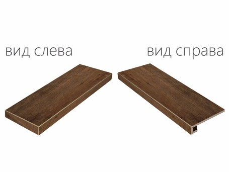 Italon Natural Life Wood Pepper X2 Scalino Angolare Sx (Италон Нэйчурал Лайф Вуд Пэппер Х2)
