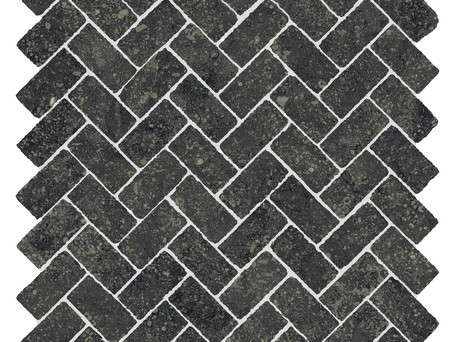 Italon Room Stone Black Mosaico Cross (Италон Рум Стоун Блэк Мозаика Кросс)